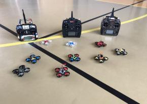 Animation pilotage drone événementielle 3